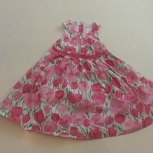 Janie and Jack 18 to 24 months pink floral dress
